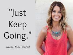 10 pearls of INFINITE wisdom from Rachel MacDonald and Tara Bliss #inspire #blog #believe