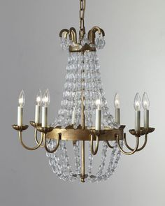 """Paris Flea Market"" Chandelier by VISUAL COMFORT at Neiman Marcus."