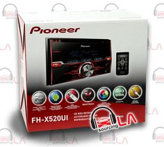 Sourcing-LA: PIONEER FH-X520UI CD MP3 PANDORA IPOD USB IPHONE E...