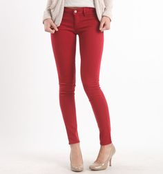 I wore red leggings the other night… I went out of my comfort zone and rocked them out like no other!