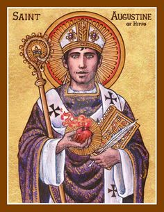 St. Augustine of Hippo icon by Theophilia on DeviantArt
