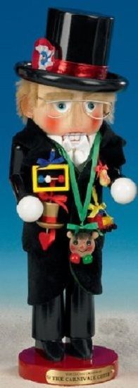 Steinbach Mardi Gras Carnival Chief German Christmas Nutcracker Germany New