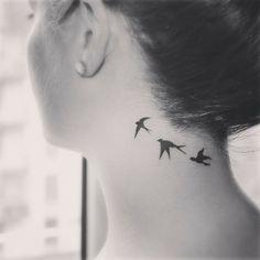 swallow tattoo.......une touche de beaute...........                                                                                                                                                                                 More