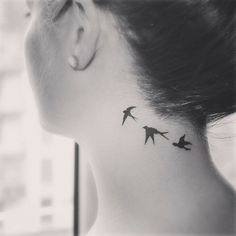 swallow tattoo.......une touche de beaute...........                                                                                                                                                                                 More