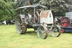 Fairbanks-Morse tractor of 1910 a