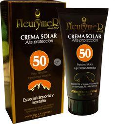 leurymer Crema Solar Facial Pieles Sensibles Especial Deporte y Montaña SPF 50 80 ml  - Castellfarma
