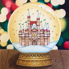 Finished my snow globe with the Christmas bokeh background 📘Johanna's Christmas 🎨Johanna Basford ✏️Caran D'Ache Pablo, Prismacolor Premier, Winsor & Newton gold ink, atyou spica gold pen and white gel pen Secret Garden Coloring Book, Coloring Book Art, Colouring Pages, Adult Coloring, Johanna Basford Books, Johanna Basford Coloring Book, Magical Christmas, Christmas Books, Joanna Basford