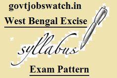 Govt Jobs Watch - One stop solution for Govt Job Notifications Railway Jobs, Bank Jobs, Watch One, Teaching Jobs, West Bengal, Pdf, Pattern, Model, Patterns