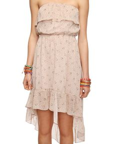 High-Low Floral Dress | FOREVER21 - 2000037164