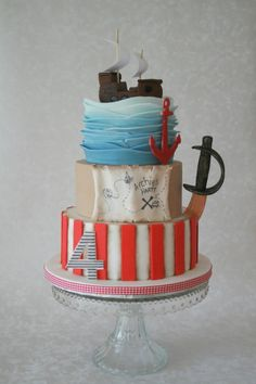 Pirate cake - Cake by Alison Lee