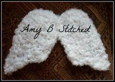 PATTERN REVIEW A Stitch At A Time for Amy B Stitched: Newborn Angel Wings and Peanuts the Elephant Hat Crochet Pattern Reviews