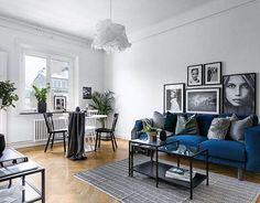 "Pocket: 3,880 Likes, 11 Comments - Scandinavian Homes (@scandinavianhomes) on Instagram: ""Birger Jarlsgatan 115 A 35 kvm, 2 rok Styling @scandinavianhomes  Mäklare Anna Boman…"""