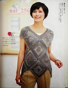 CARAMELO DE CROCHET: blusa en granny