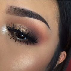 Eye Makeup Tips – How To Apply Eyeliner – Makeup Design Ideas Kiss Makeup, Cute Makeup, Pretty Makeup, Beauty Makeup, Hair Makeup, Makeup Eyebrows, Makeup Style, Gorgeous Makeup, Makeup Hairstyle