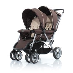 "Twin buggy ""in linea"""