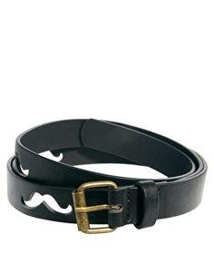 ASOS Belt With Moustache Cut Out