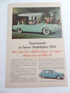 antiga publicidade anos 50!!! studbaker porche aerowillys