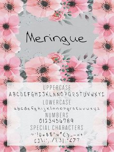 Meringue is a new handwritten font in OTF format created with Fontself! This is a digital file that can be used on just about any program where fonts can be Otf Font, Hand Lettering Alphabet, Wedding Shoes Bride, Wedding Fonts, Special Characters, Script Fonts, Create A Logo, Cool Fonts, Art Tips