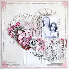 Layout: Love You * Scraps Of Elegance February Kit*
