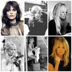 Love the long shaggy layers and grown out bangs (via B. Jones Style) #hair #beauty