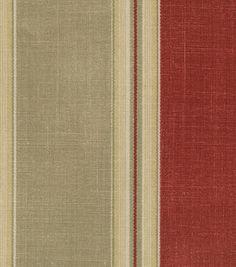 Waverly Home Decor Fabric Country Club Crimson