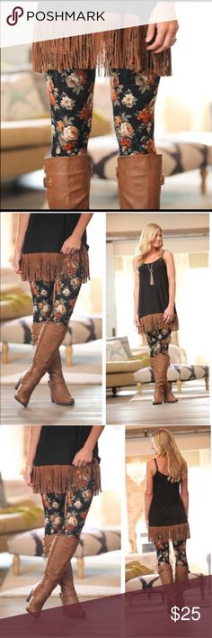 •JUST IN•PLUS SIZED fall floral leggings Amazingly soft fall floral leggings now in plus size! 92% polyester & 8% spandex. These are the plus size version of the one size, they will fit a 12-18 comfortably.  trades, bundle and save! Infinity Raine Other