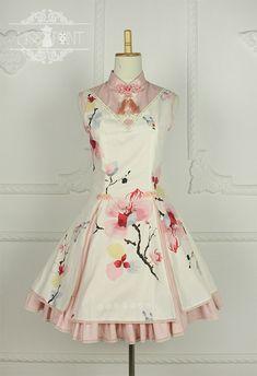 Miss Point -Magnolia Poem- Qi Lolita Jumper Dress