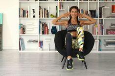 Mit diesen vier Übungen können Sie mit gutem Gewissen aufs Fitnesscenter verzichten - und fernsehen.