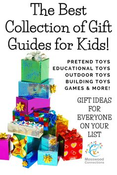 Gift Ideas for Kids: Find the Perfect Gift for Every Child, a collection of gift guides for kids #mosswoodconnections #giftguides #teens #tweens #activetoys #holidays Unique Gifts For Kids, Unique Toys, Creative Gifts, Birthday Gifts For Kids, Interesting Reads, Holidays With Kids, Holiday Activities, Happy Kids, Parenting Advice