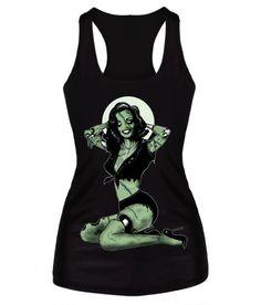 40d3cdb6 Women Summer Tops Painting Cool Pattern 3D Skull Bone Camisole Sexy Print  Vest Tanks Tops Shirt