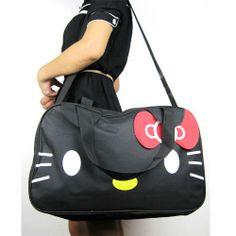 Style Girl Candy Lovely HelloKitty Big Hand Travel Bag Shoulder Shopping | eBay