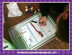A Differentiated Kindergarten: Halloween Word Work Planning