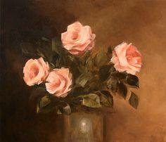 Aleksandra Zając, oil painting, kopia obrazu Parastoo Ganjei
