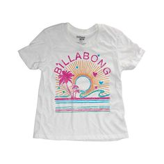 Billabong Billie Girls Shirt Fun In The Sunshine Cool Wip At Hansen's Surf Shop
