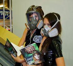 Gas Mask Girl, Respirator Mask, Jennifer Aniston, Masquerade, Gas Masks, Guy Stuff, Guys, Womens Fashion, Mascaras