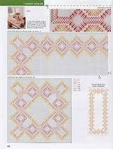 swedish weaving | Swedish Weave | Bordado Vagonite | Pinterest