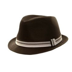 829fa214000 Black Trilby MOD Pork Pie Hat with Grey Band Narrow Brim Style Lovely  Quality And Very