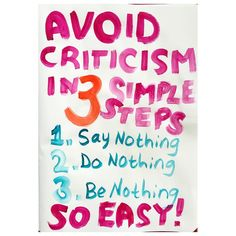 (Thanks Aristotle, it's a good one)  #criticism #aristotle #emmapilipon
