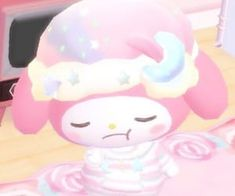 sanrio, tomotoru, and my melody 圖片 Aesthetic Images, Pink Aesthetic, Aesthetic Anime, Sanrio Characters, Cute Characters, Hello Kitty My Melody, Baby Memes, Cute Wallpaper For Phone, Cute Memes