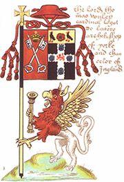 Cardinal Wolsey banner.