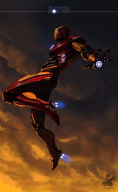 IRONMAN by saadirfan.deviantart.com on @deviantART