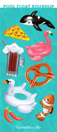 Kick your pool party up a notch with fun pool floats from hayneedle.com.
