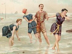 Beachwear - Swimwear through the ages - Pictures - CBS News