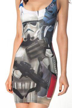 Storm Trooper Dress from blackmilkclothing #Star Wars #dress #Storm Trooper
