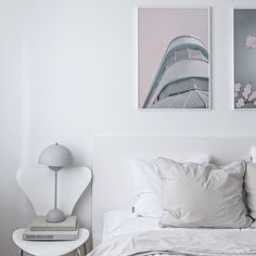bedroom all withe decor