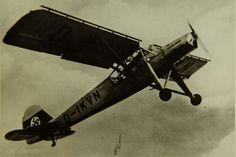 The Fieseler Fi 156 V1 Storch prototype.