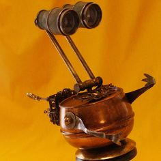 Mortimer - The Jewel Thief Steampunk Robot by ReClaim2Fame