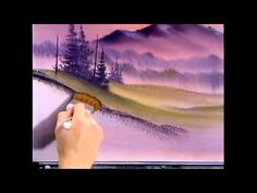 The Joy of Painting S8E1 Misty Rolling Hills - YouTube