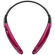 LG Tone Pro 770 Bluetooth Wireless Stereo Headset - Pink