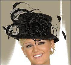 Fashion Hats for Women Fancy Hats, Cute Hats, Fascinator Hats, Fascinators, Headpieces, Melbourne Cup Fashion, Church Suits And Hats, Hats For Women, Ladies Hats